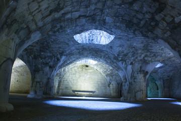 Inside the Munot, Schaffhausen, Switzerland