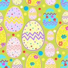 Happy Easter sketch pattern.