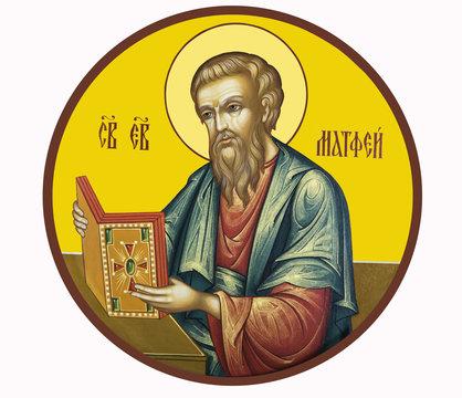 Icon of St. Matthew the Evangelist