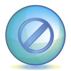 Icon Restricted color of aqua