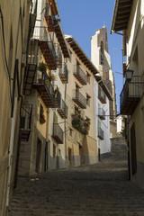 Trappor i Morella, Spanien