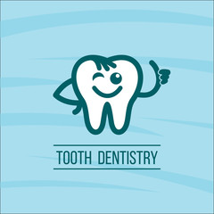 Dentist tooth logo design template. Dental Clinic Logotype. 2
