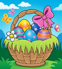 Easter basket theme image 2