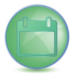 Icon Calendar color of malachite