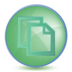 Icon Copy color of malachite