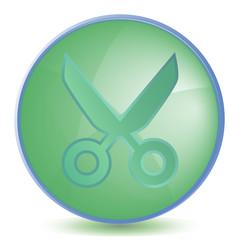 Icon Cut color of malachite