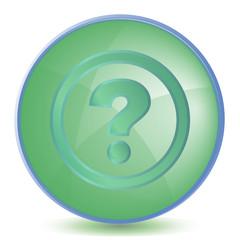 Icon Help color of malachite