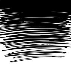 Scribble black background
