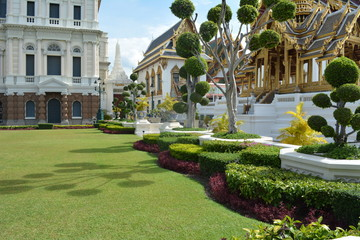 Bangkok Palace colors