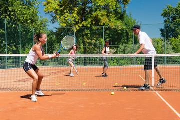 Cardio tennis fitness