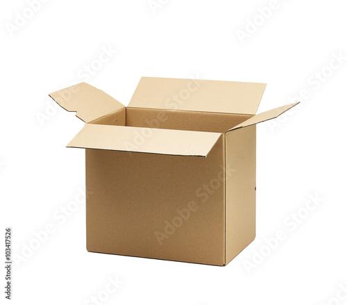offener pappkarton stockfotos und lizenzfreie bilder auf. Black Bedroom Furniture Sets. Home Design Ideas