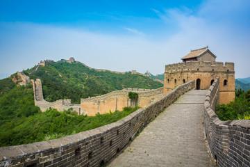 Keuken foto achterwand Chinese Muur The Great Wall, Beijing, China