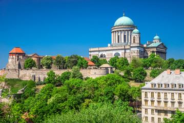 Cathedral in Esztergom, Hungary