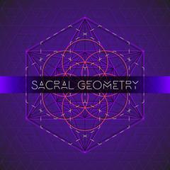 metatron outline seed of life sacred geometry.