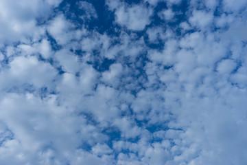 blue sky and beauty cloud