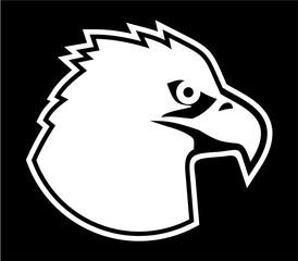 eagle face icon