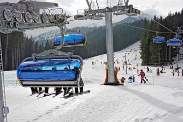Rohace, Zuberec, wyciąg narciarski