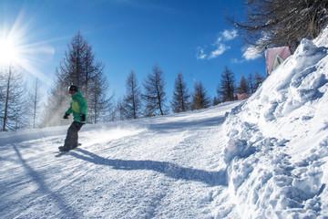Snowboard Ski Italy Livigno