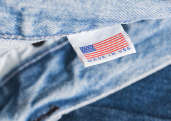 Made in the USA label