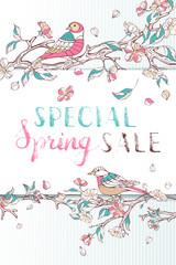 Special Spring Sale.