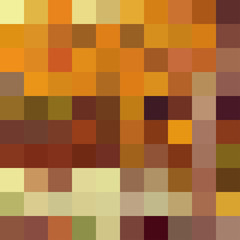 Autumn colorful abstract mosaic background template.