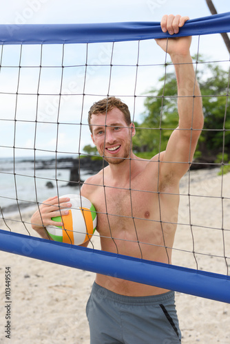 Pictures of topless volleyball