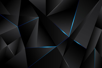 Abstract polygon geometric background