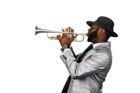 Bearded musician.