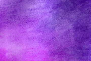 Purple grunge in watercolor