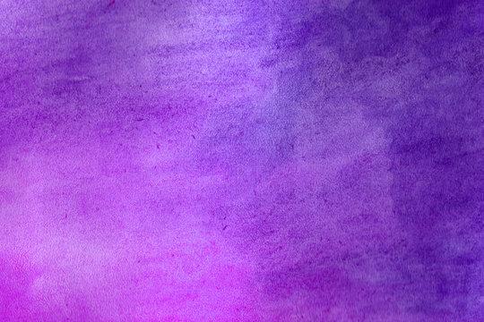 Purple grunge in watercolor