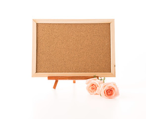 art board with rose