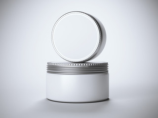 Two modern cans