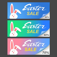 easter sale, vector