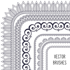 Ethnic brush collection
