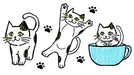 ネコのキャラター