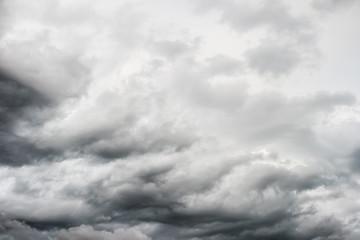 grey stormy cloudy sky