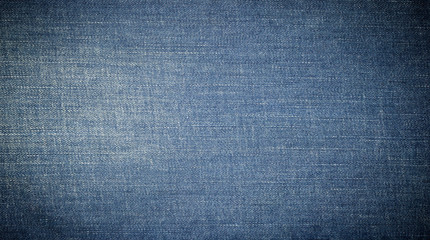 closeup view to abstract space of empty jean texture for the bus