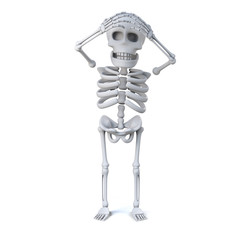 3d Skeleton has forgotten something