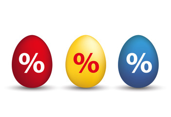 Easter Egss Percentage