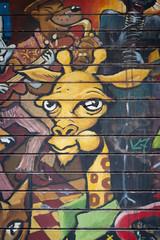 Peinture girafe