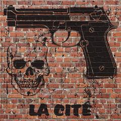 Art grunge, symbolique de la cité