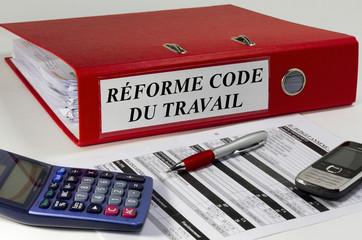 Classeur réforme code du travail