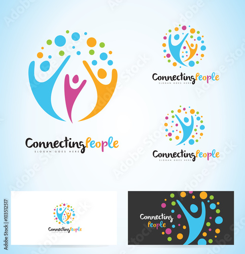 People Logo Designs  Logo Design Gallery Inspiration