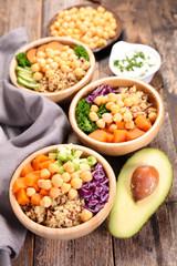 bouddha bowl, vegetarian bowl