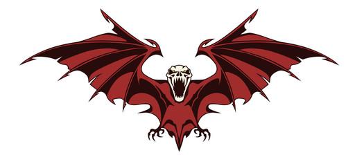 Creepy bat