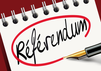 Référendum - voter - démocratie