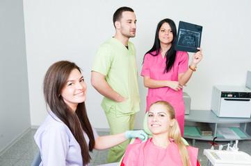 Dental assistance concept