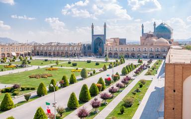 Naqsh-I Jahan Square in Esfahan, Iran Wall mural