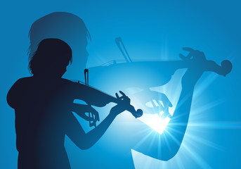 Violoniste - musique