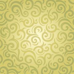 Green vintage retro decorative wallpaper vector design